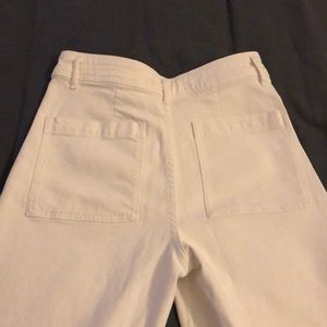 "Zara Pants - White Zara Wide Leg ""The Mariner Pants"""